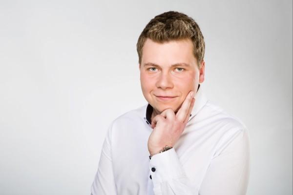 Ve fotoateliéru České televize proběhlo fotografování moderátorských tváří České televize.